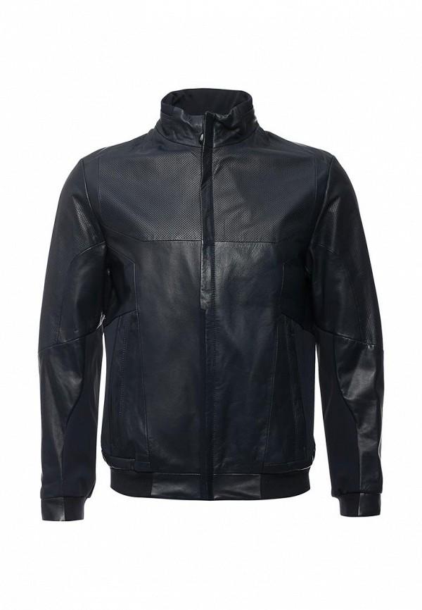 Кожаная куртка Boss Green 50308356: изображение 1