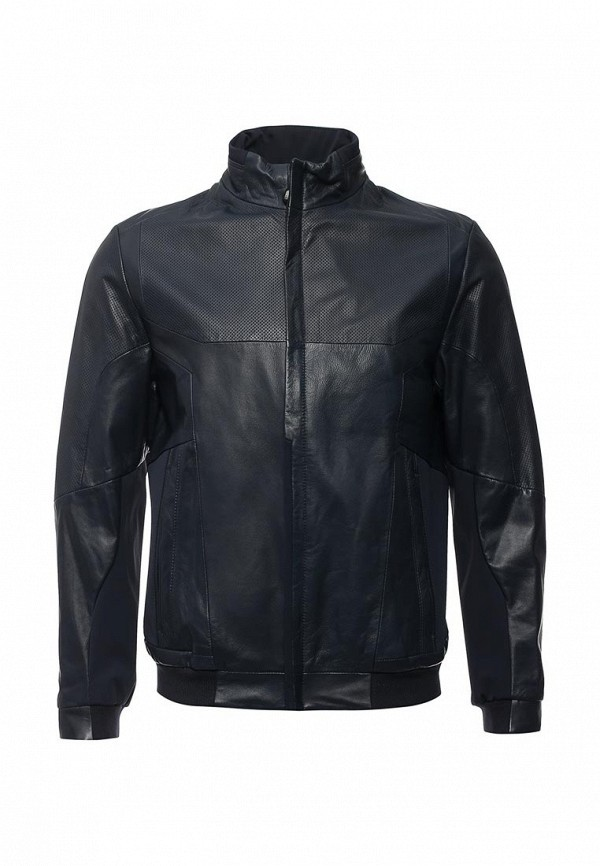 Кожаная куртка Boss Green 50308356: изображение 2