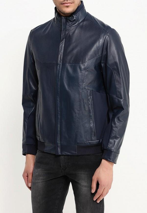 Кожаная куртка Boss Green 50308356: изображение 4