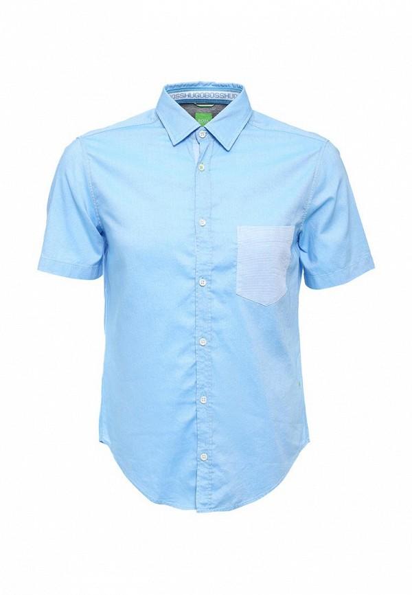 Рубашка с коротким рукавом Boss Green 50308451: изображение 1