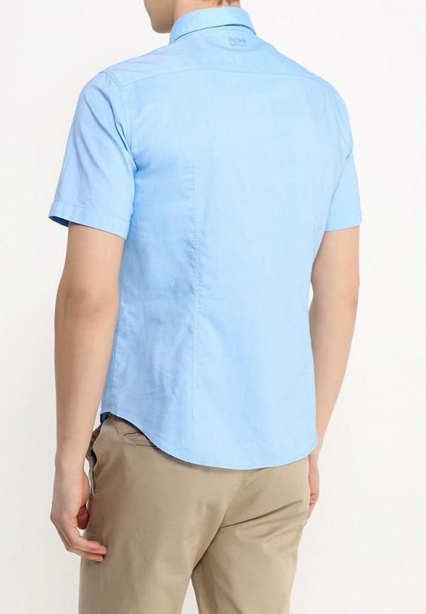 Рубашка с коротким рукавом Boss Green 50308451: изображение 4