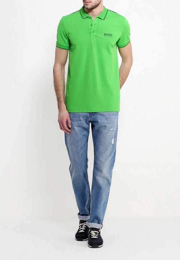 Мужские поло Boss Green 50310307: изображение 3