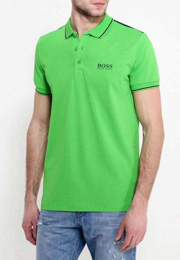 Мужские поло Boss Green 50310307: изображение 4