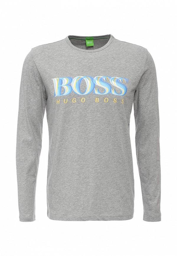 Футболка с надписями Boss Green 50311475: изображение 1