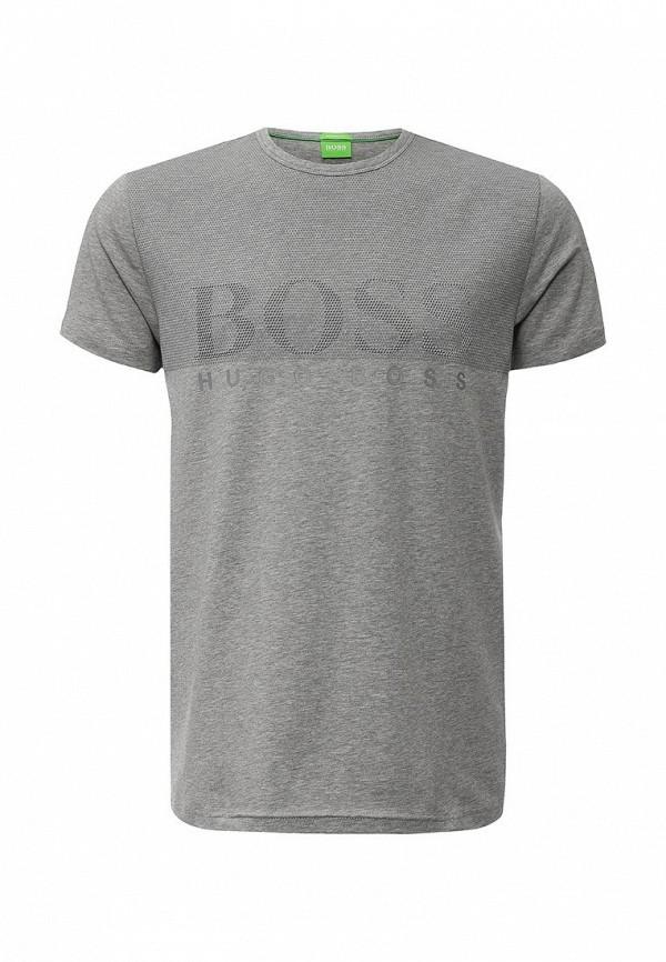 Футболка с надписями Boss Green 50313352