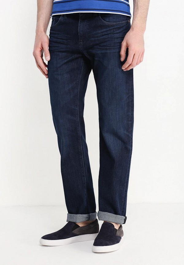 Мужские прямые джинсы Boss Green 50313423: изображение 3