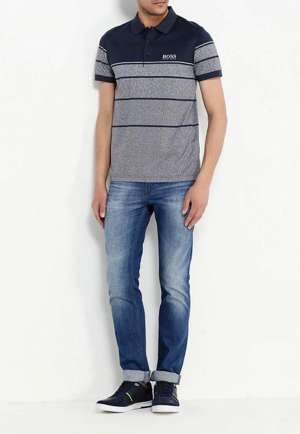 Мужские прямые джинсы Boss Green 50313428: изображение 2
