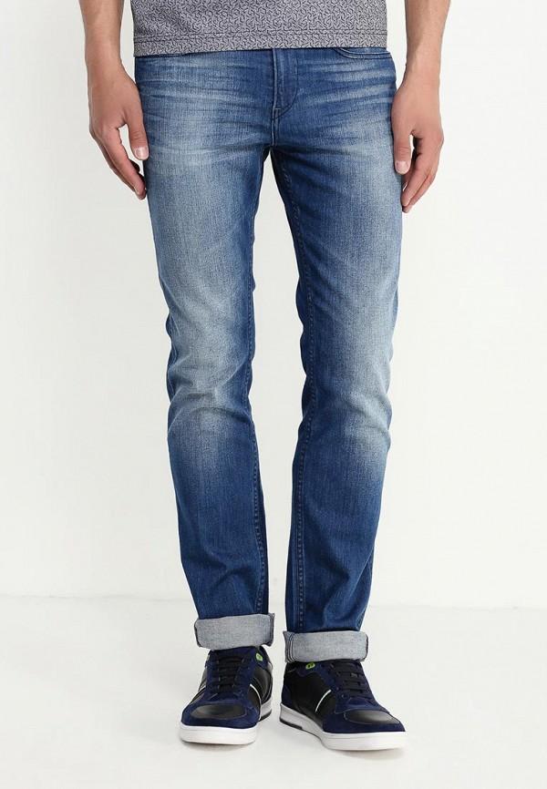Мужские прямые джинсы Boss Green 50313428: изображение 3