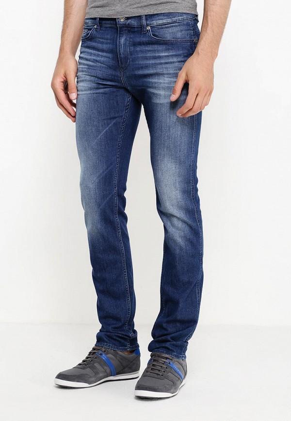 Зауженные джинсы Boss Green 50320331: изображение 3
