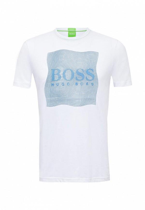 Футболка с надписями Boss Green 50319815: изображение 1