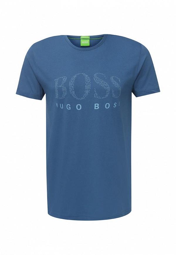 Футболка с надписями Boss Green 50319818: изображение 1