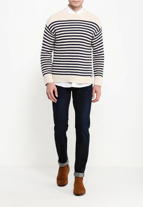 Зауженные джинсы Boss Green 50303587: изображение 2