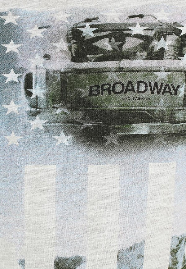 Футболка с надписями Broadway (Бродвей) 10151325  81A: изображение 3