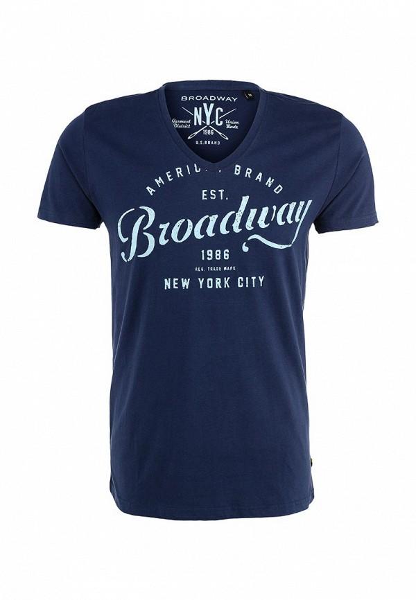 Футболка с надписями Broadway (Бродвей) 10152523: изображение 1