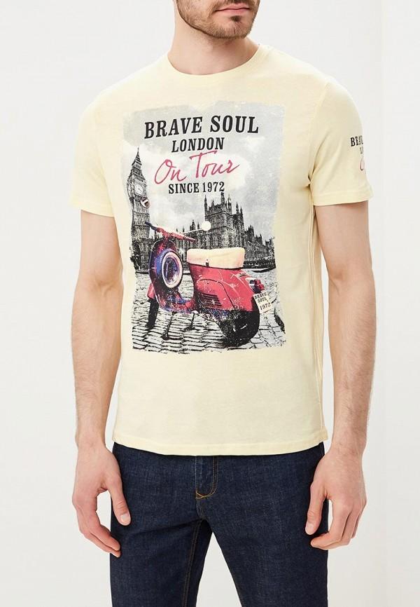 Футболка Brave Soul Brave Soul BR019EMABOP4 футболка brave soul brave soul br019ewsag21