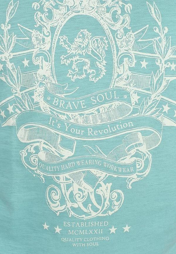 Футболка с надписями Brave Soul MTS-69RITZ: изображение 4