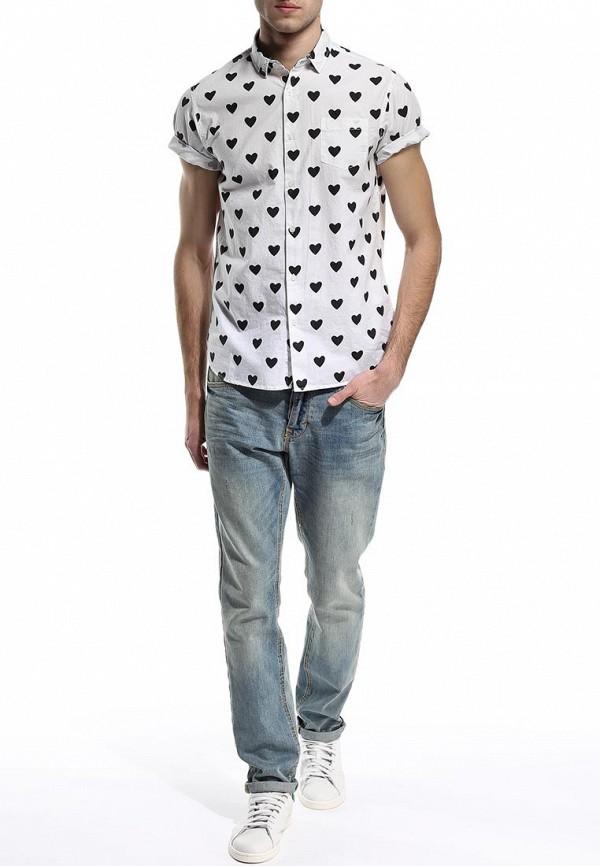 Рубашка с коротким рукавом Brave Soul MSH-48HEARTS: изображение 4