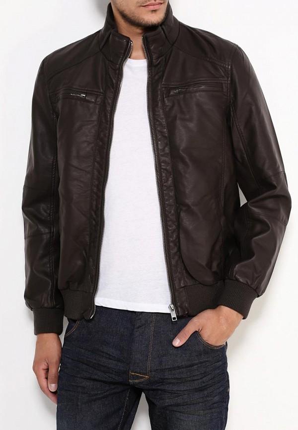 Кожаная куртка Brave Soul MJK-LEROYCHOC: изображение 4