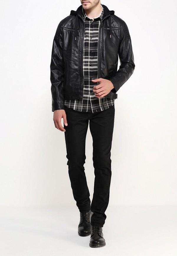 Кожаная куртка Brave Soul MJK-RAVELLI: изображение 2