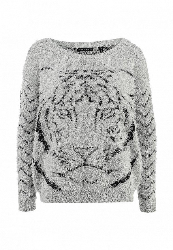 Пуловер Brave Soul LK-281ROAR: изображение 1