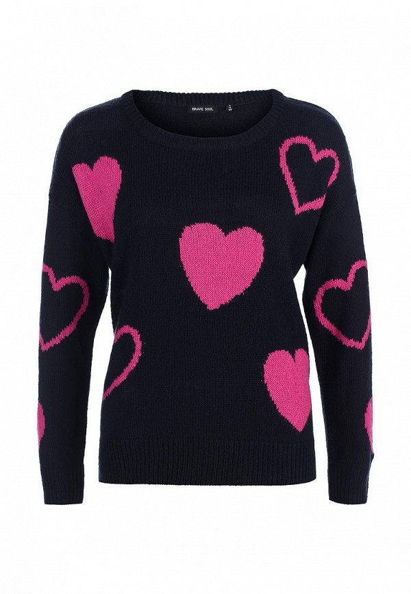 Пуловер Brave Soul LK-181HEARTS: изображение 1