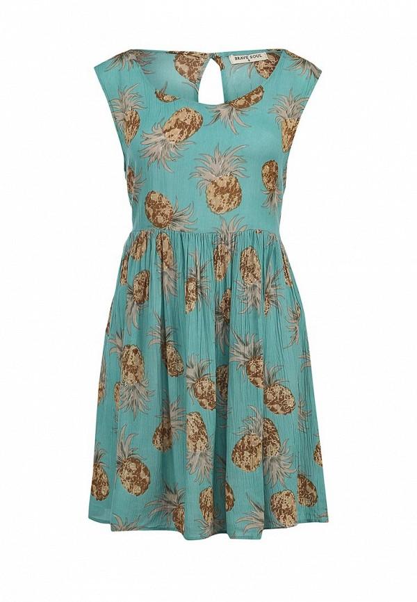 Платье-мини Brave Soul LDRW-117CHINKY: изображение 1