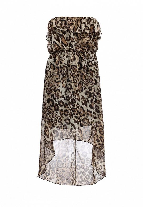 Платье-миди Brave Soul LDRW-272LEOPARD: изображение 1