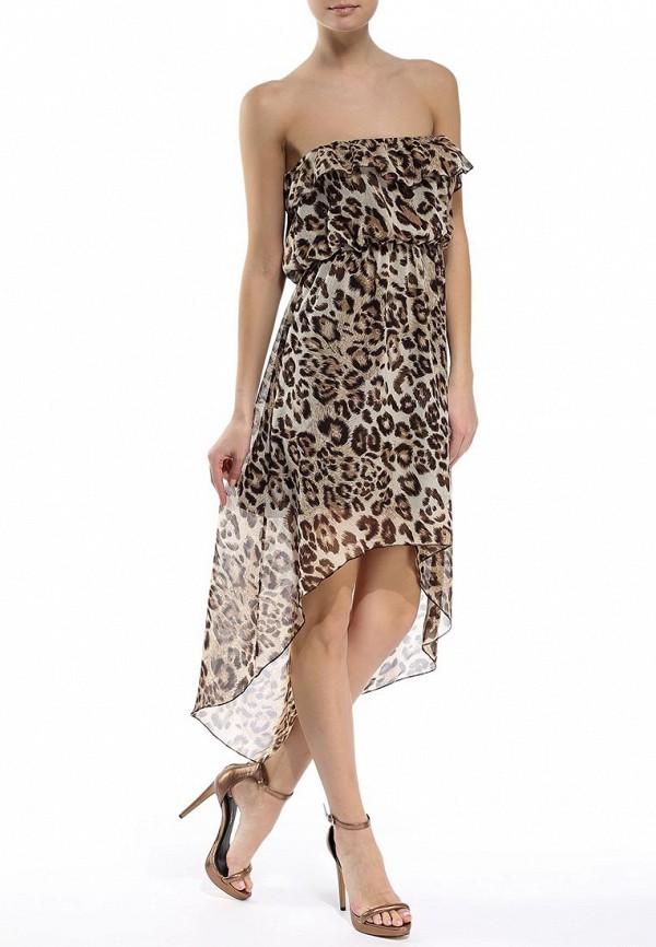Платье-миди Brave Soul LDRW-272LEOPARD: изображение 2