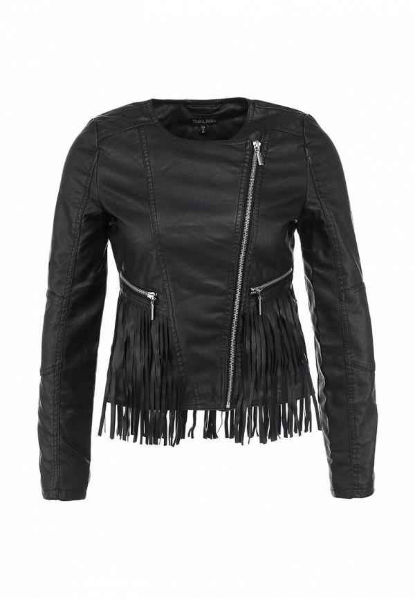 Кожаная куртка Brave Soul LJK-FRINGES: изображение 1