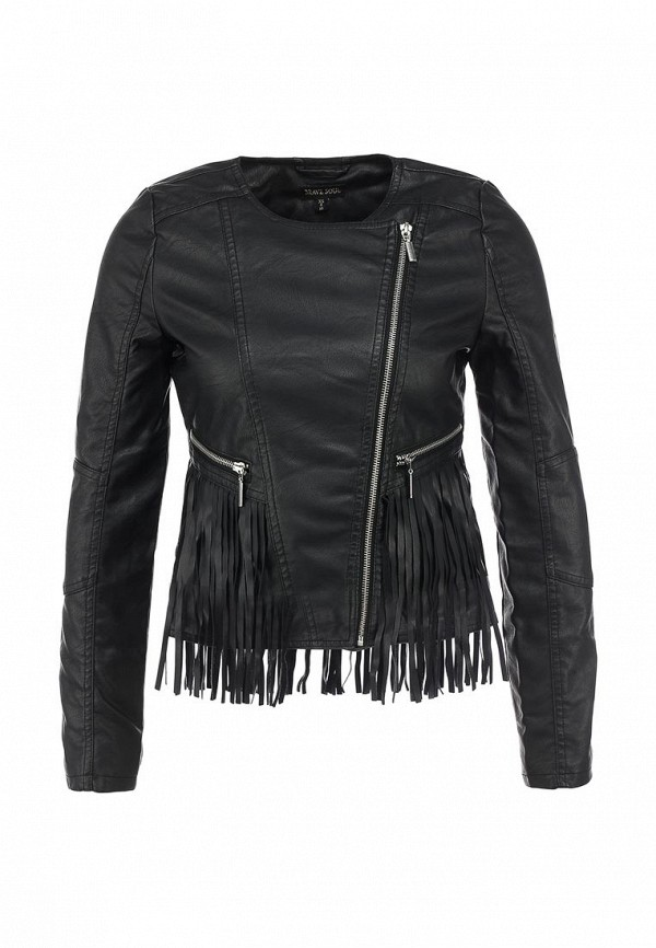 Кожаная куртка Brave Soul LJK-FRINGES