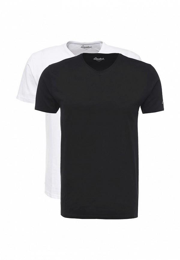 Фото - Комплект футболок 2 шт. Bruebeck цвет белый, черный