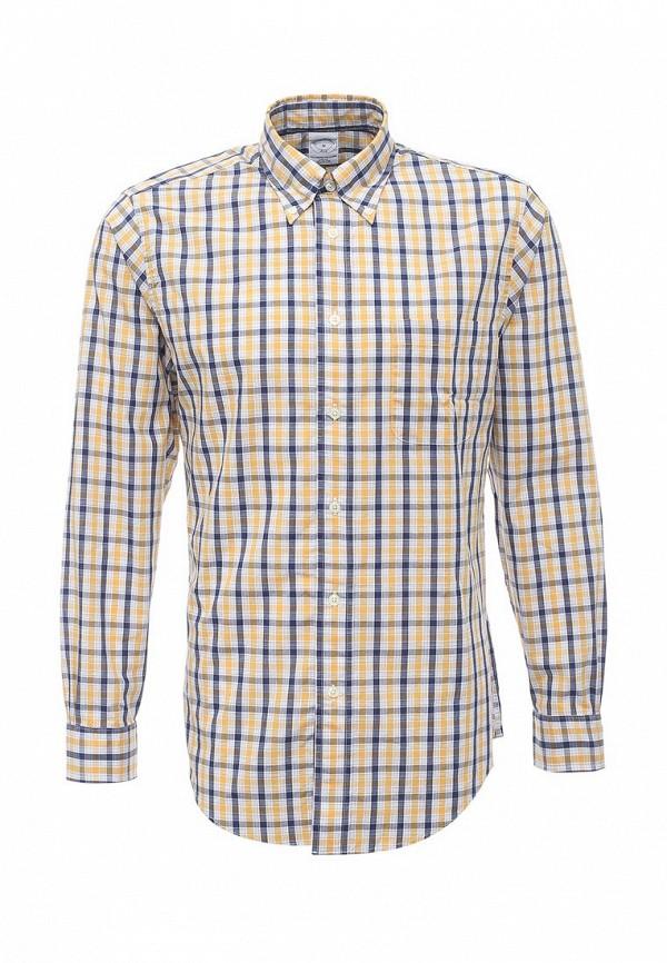 Рубашка с длинным рукавом Brooks Brothers 100038672_GIALLO