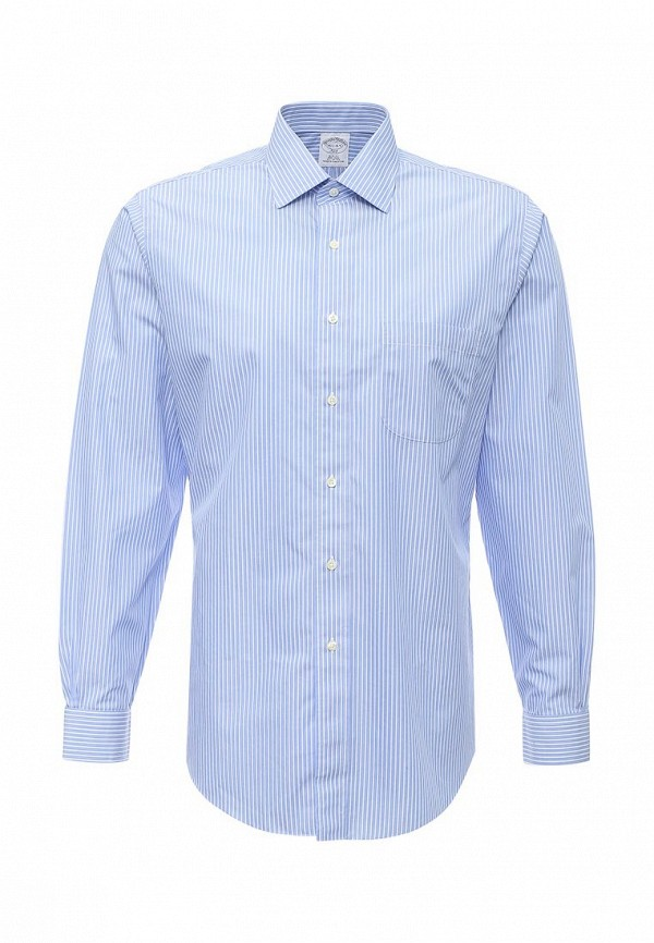 Рубашка с длинным рукавом Brooks Brothers 100040429_BLU
