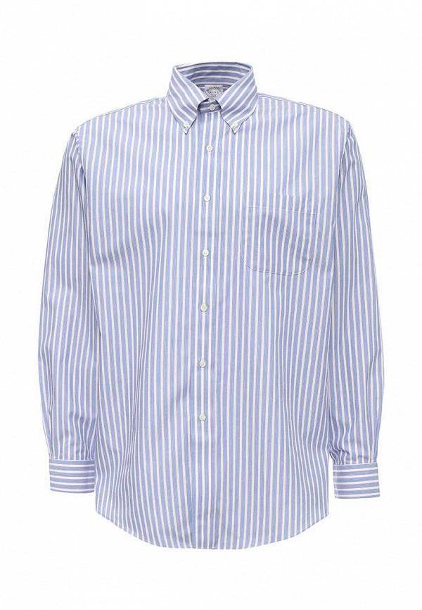 Рубашка с длинным рукавом Brooks Brothers 100040434_AZZURRO