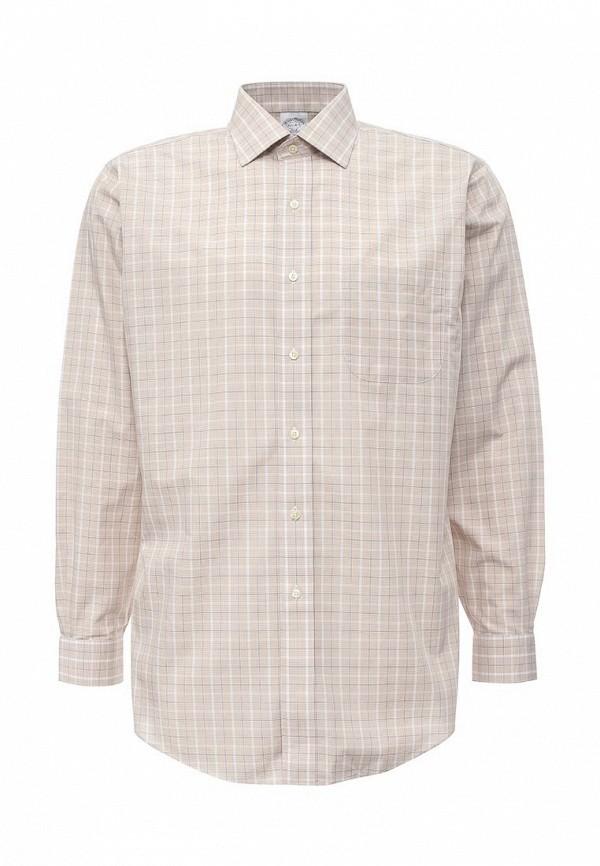 Рубашка с длинным рукавом Brooks Brothers 100040453_BEIGE