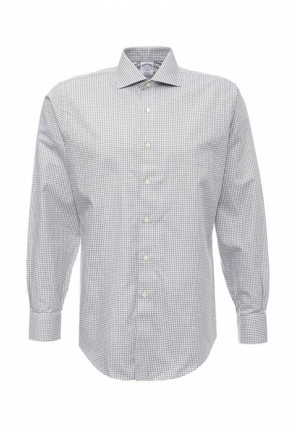 Рубашка с длинным рукавом Brooks Brothers 100040480_GRIGIO