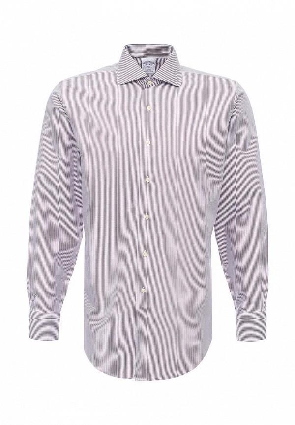 Рубашка с коротким рукавом Brooks Brothers 100040492_ROSSO