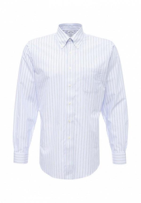 Рубашка с длинным рукавом Brooks Brothers 100040544_AZZURRO