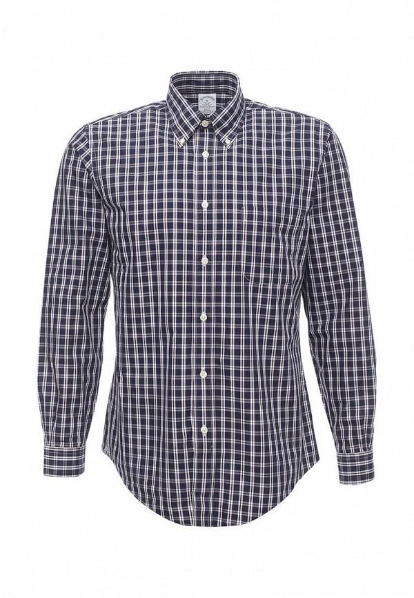 Рубашка с длинным рукавом Brooks Brothers 100047196_BLUNAVY
