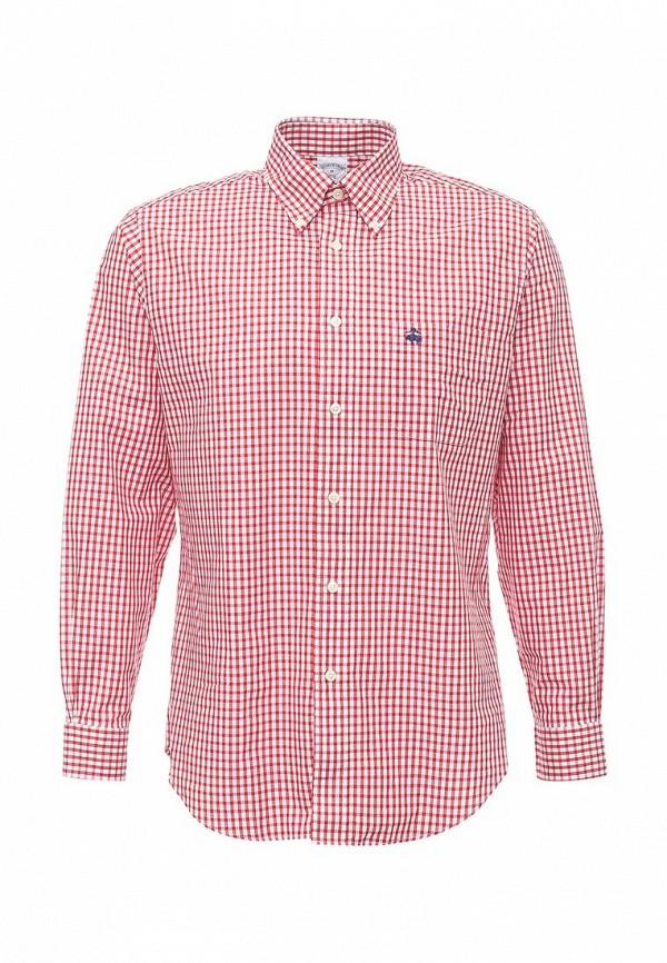 Купить мужскую рубашку Brooks Brothers красного цвета