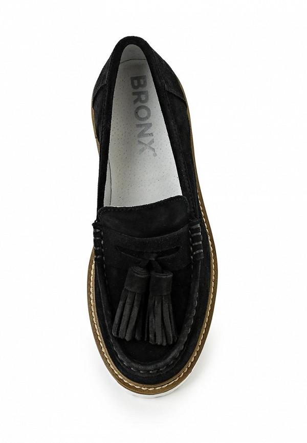 Туфли на плоской подошве Bronx (Бронкс) 65339-AQ-01: изображение 4