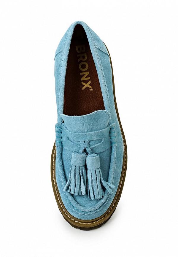 Туфли на плоской подошве Bronx (Бронкс) 65339-BA-72: изображение 4