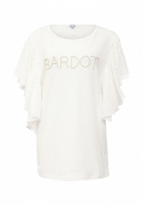 Футболка с надписями Brigitte Bardot BB48016