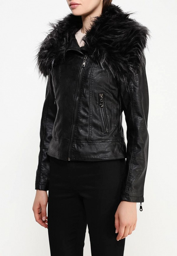 Кожаная куртка B.Style R10-P65017: изображение 3