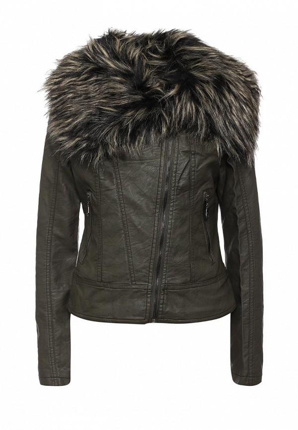 Кожаная куртка B.Style R10-P65017
