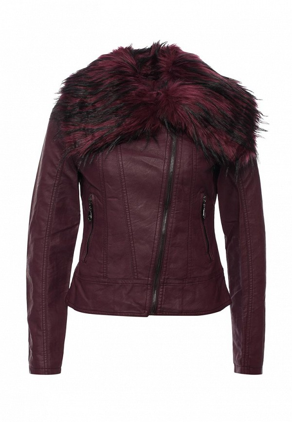 Кожаная куртка B.Style R10-P65017: изображение 1