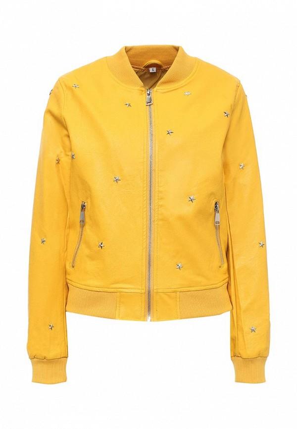 Кожаная куртка B.Style B011-P75013