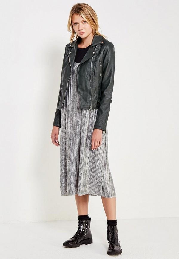 Фото Куртка кожаная B.Style. Купить с доставкой