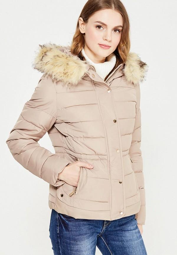 Купить Куртка утепленная B.Style, BS002EWXWM41, бежевый, Осень-зима 2017/2018