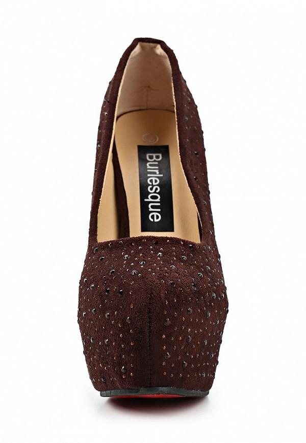 Туфли на каблуке Burlesque HB12-28: изображение 4